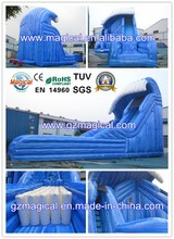 New design inflatable long slide/inflatable outdoor water slide