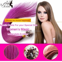 Brazilian remy hair micro ring straight hair extension, 100% human hair extention