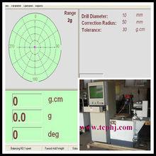 Discos amoladora/moledora/esmeril vertical de la máquina de equilibrio