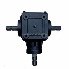 S2070-7 European Standard heat treated 1:1 ratio 90 degree gearbox
