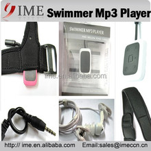 Diving Mp3 Player IPX8 100% Waterproof Swimming/Running Sport Mp3 FM 4G 8G 16G