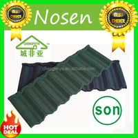 Soncap Hot sale building materials/colorful stone coated roof