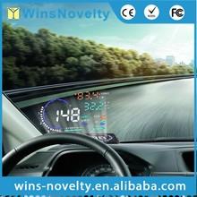 best sellers of 2015 5.5 Inch hud display Vehicle Head Up Display GPS OBD car speed limiter hud A8 speedometer