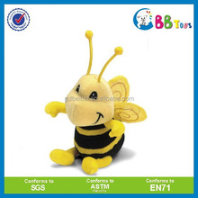 Custom made stuffed animal plush toy bee