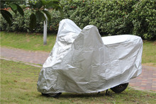170T polyester coating silver ,cheap motorcycle pocket,mountain bike cover for wholesales