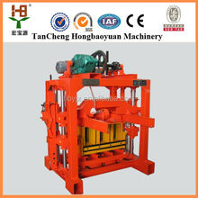 China industry directly provides hot sale cheapest QTJ4-35 concrete /cement material block brick making machine price