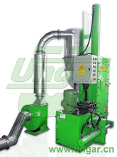 Aluminum scrap collect and press machine for Aluminum foil container production line