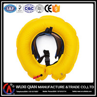 Lifesaving inflatable life jacket waist pack