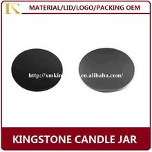 rose gold/gold/silver/copper/matt black/matt white marble candl jar lid