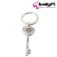 customized key shaped key holder with crystal