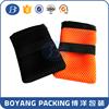 fashion black small nylon mesh drawstring bag