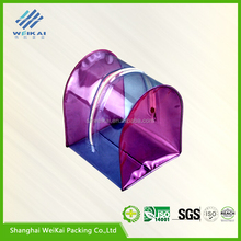 plastic pvc gift vinyl gift bag with zipper WK0188