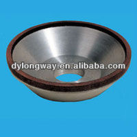150x32x5x5mm diamond grinding wheel diamond cutting wheel for glass diamond grinding wheel for carbide,150grid,dish type