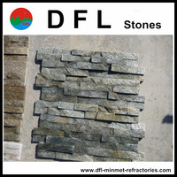 Green Stacked stones factory