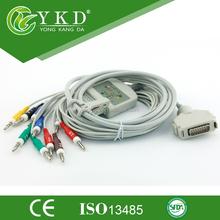 Fukuda Denshi ECG/EKG Cable,10/12 lead ecg/ekg cable,CE&ISO13485 approved.