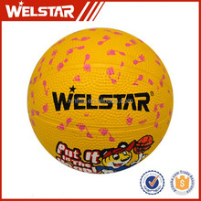 Novelty competition rubber cartoon children gifts basketballs