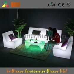 Plastic modern led sofa New Model Furniture /living room sofa