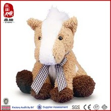 give away mini horse wholesaler happy horse plush toys