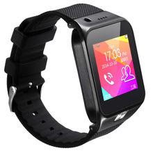 New Design Touch Screen Hand Watch Phone Smart Wrist Watch Phone SIM Card Black Gold Silver