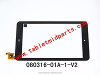 Tablet MID Replacement 8.0 inch touch panel 080316-01A-1-V2