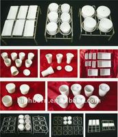 ceramic coal analysis consumable crucible, basins