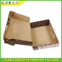 Custom brown largest us corrugated box manufacturers