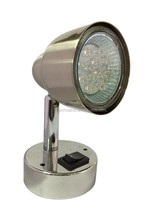 2 Inch LED Reading Light with Replaceable LED Bulb RV/TRAILER/CARAVAN/BUS
