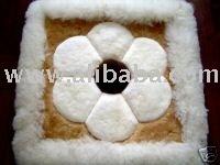 "Alpaca Pillow Case / Alpaca Rug 18"" Peru"