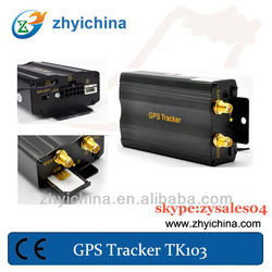 gps trackers mini for cars TK103 mini gsm alarm system with remote controller
