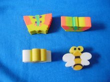 customized coloured rubber / eraser / stationery