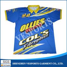 Full sublimation printing xxxxl polo shirt import