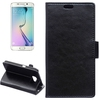 funky mobile phone case radiation-free luxury pu leather flip case case cover for galaxy s6 edge