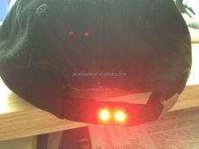 baseball cap with halloween led lights