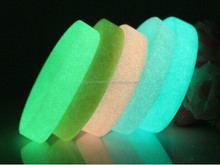 Customized glow in dark silicone wristbands for event music party,glow in the dark party products wrist band for cheering