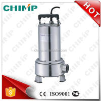 stainless steel submersible water pumping machine with float switch