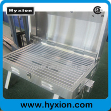 Most popular stainless steel gas barbecue with two folding legs