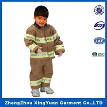 used cosplay and costumes Firefighters costume for boys,wholesale firefighter costume