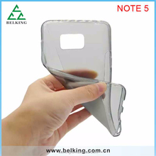 For Samsung Galaxy Note 5 S line TPU case, phone case for Galaxy Note 5, TPU back case for Note 5