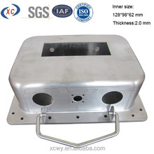 Custom metal fabrication metal case for power supply