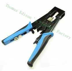 Cable Crimper Universal Compression Tool Adjustable CRIMP TOOL F BNC RCA RG-59 RG-59 RG-6 BNC, RCA crimping plier