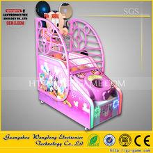Mini shooting arcade game machine,Indoor arcade hoops cabinet basketball game for kids, basketball shooting gun machine