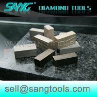 1M grade A diamond segments ( cutting tips ) for granite edge cutting