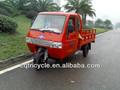 cor vermelha moto triciclo de carga