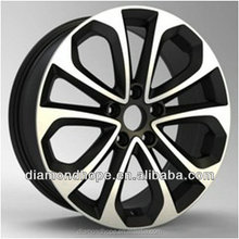 good quality 4x4 black wheel for retail(ZW-P653)