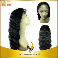 Wholesale body wave natural african american wigs high quality brazilian human hair natural african american wigs