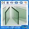 12mm thick polished edge toughened glass price
