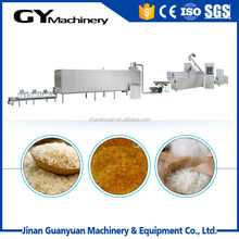 Popular China factory sale man made rice production line