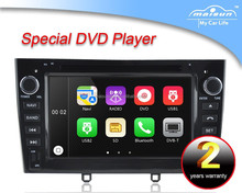 MAISUN high quality peugeot 408 touch screen car dvd player with 3G/dvd/bluetooth/TV/ipod