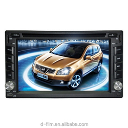 GPS Navigation HD Double 2 DIN Car Stereo DVD Player Bluetooth Radio MP3 In Dash universal