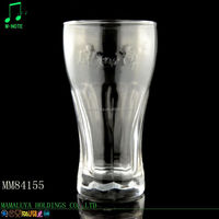 450ml factory directly supply clear fashionable glass drinkware